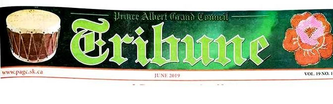 PAGC Tribune June 2019 – Senator Myles Venne School & Sally Ross School Grad Congratulations From LLRIB Chief & Council